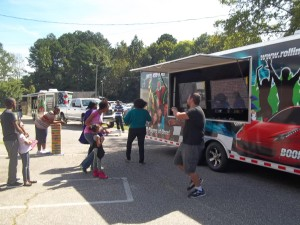 Our Mobile Game Truck in Action!