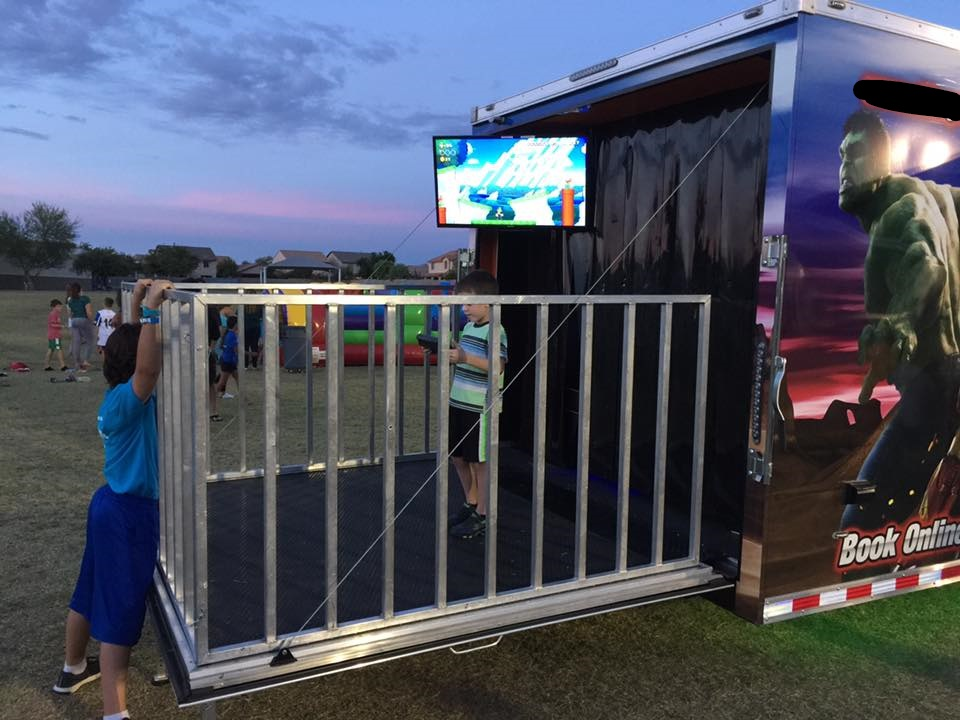 2016 Pre Owned 8 TV Game Theater_Back Stage_Awning_10k Gen $60,000 2