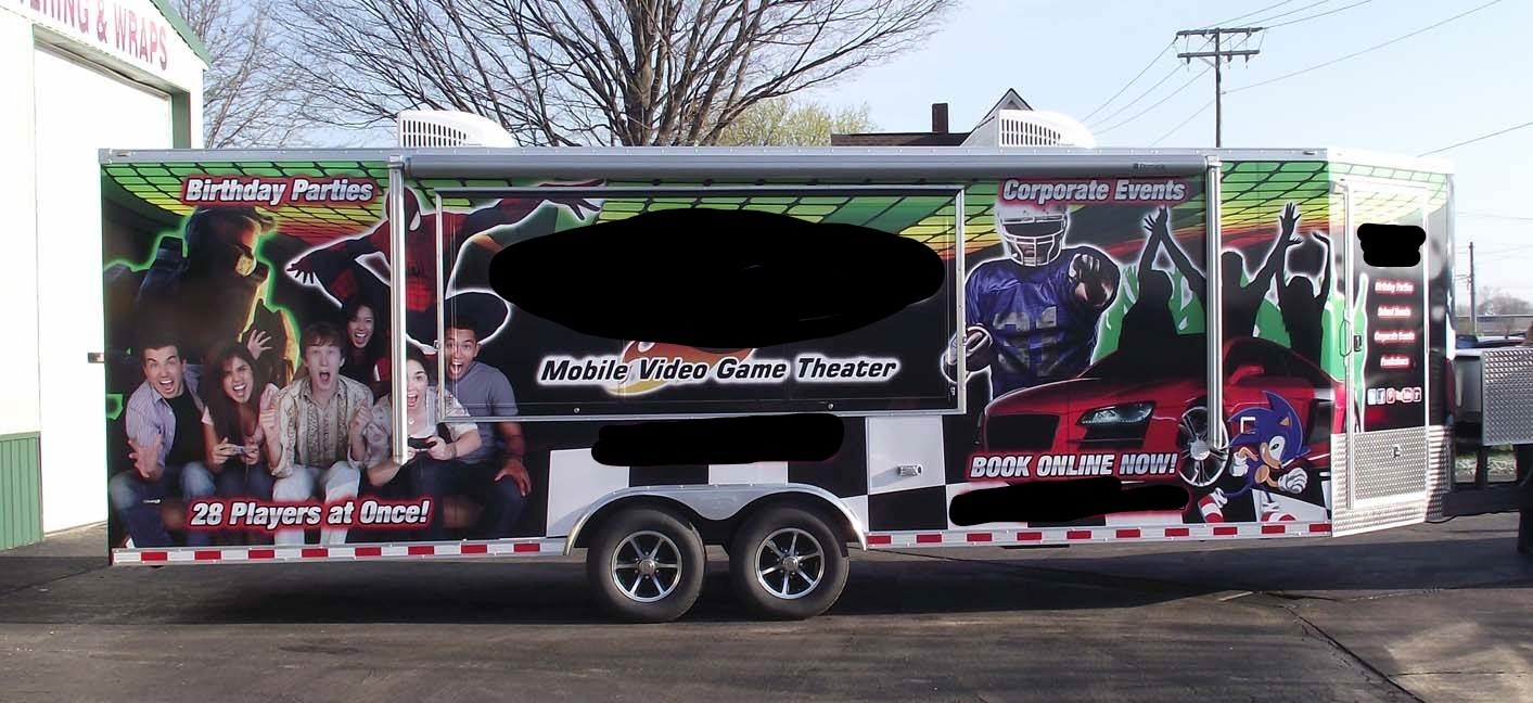 Used Video Game Trucks Trailers Game Vans for Sale!