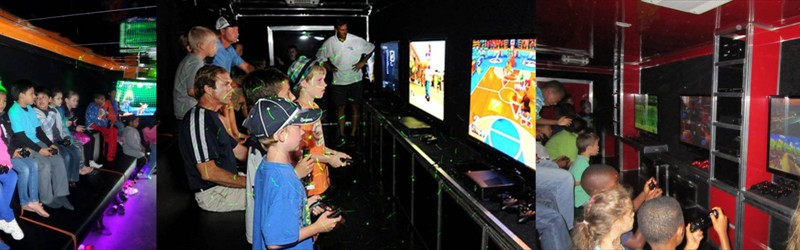 In search of a pre-owned Mobile Video Game Theater?